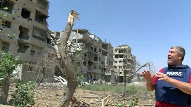 بلدة المليحة السورية