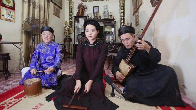Gia đình nghệ nhân ca trù Nguyễn Văn Mùi