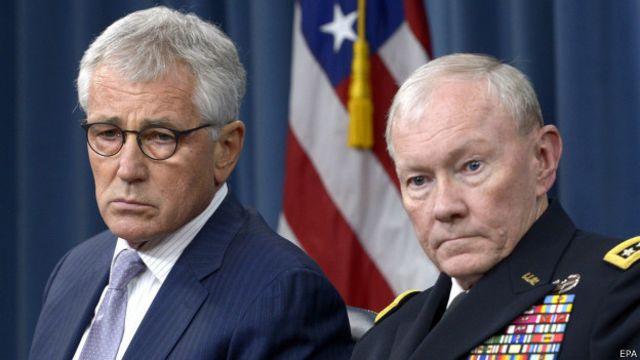 الجنرال ديمبسي يقول إنه قد يوصي بإرسال قوات برية إلى العراق