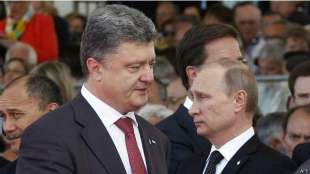 Чего ждать от встречи Порошенко и Путина?