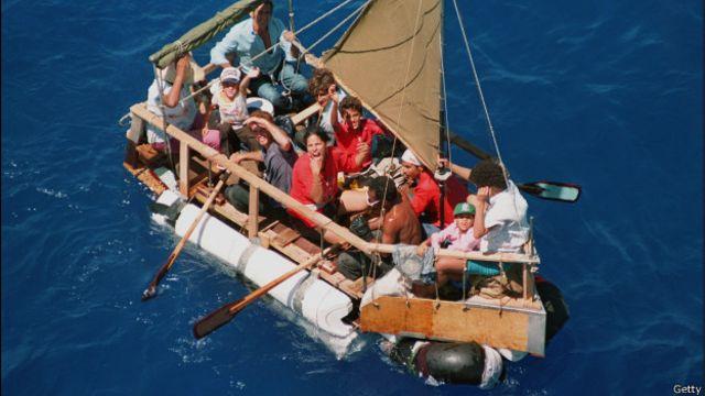 Cuatro travesías extraordinarias de cubanos a EE.UU.