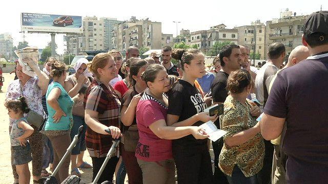نازحون مسيحيون من العراق