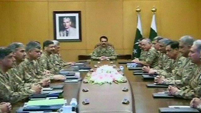 قيادة الجيش الباكستاني