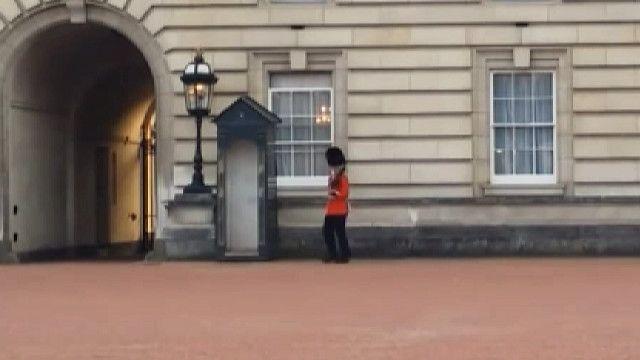 Караульный у Букингемского дворца