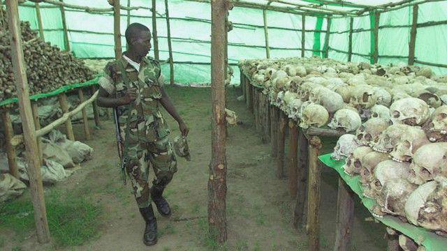Kasusuwa da kwarangwal Rwanda