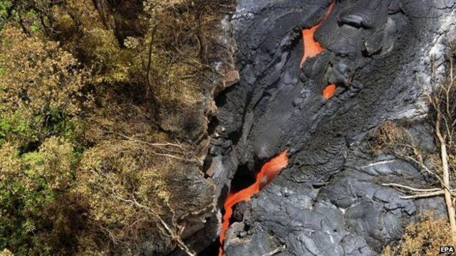 Как остановить поток лавы?