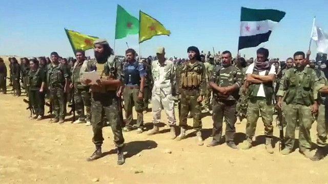 مقاتلين معارضين للنظام في سوريا