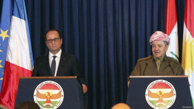 """تزويد كردستان بالأسلحة """"حاسم"""" في الحرب على تنظيم """"الدولة الإسلامية"""""""