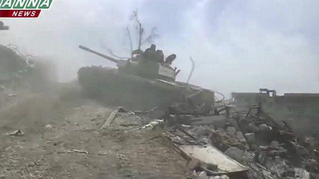 دبابة سوريا