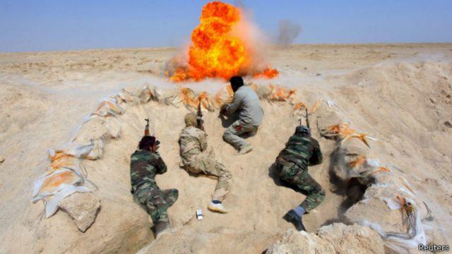 """مقتل 26 من مسلحي """"الدولة الإسلامية"""" في غارة على الضلوعية"""