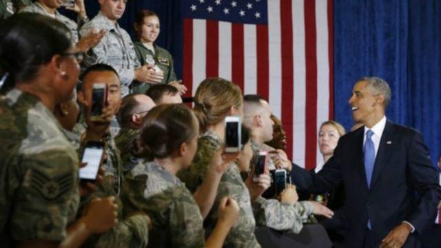 """أوباما: الجيش الامريكي لن يخوض مهاما قتالية برية ضد """"الدولة الاسلامية"""" في العراق"""