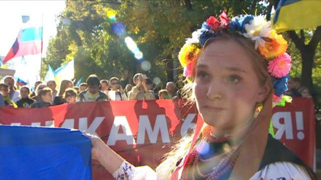 Марш мира: против войны в Украине