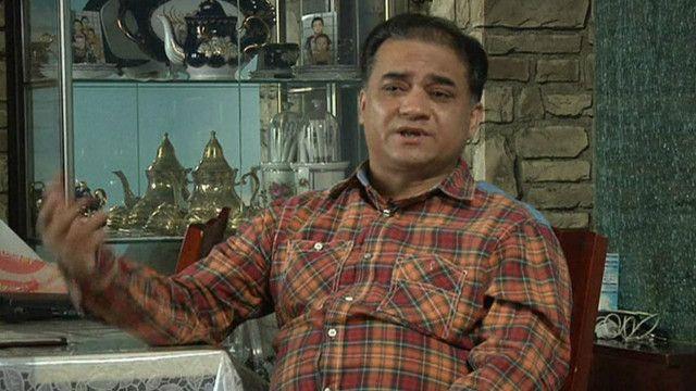維吾爾族學者伊力哈木