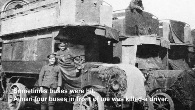 一战伦敦公交车