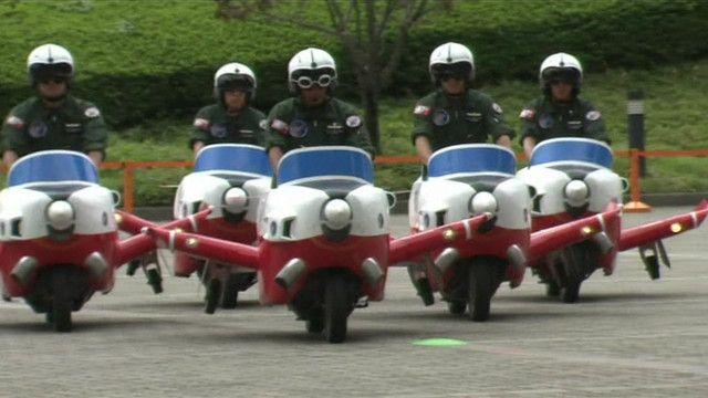 Comemoração de 60 anos da Força Aérea Japonesa