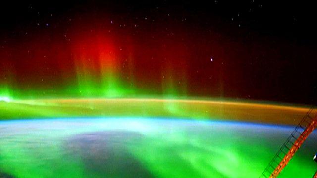 Imagen tomada por Alexander Gerst en la Estación Espacial Internacional