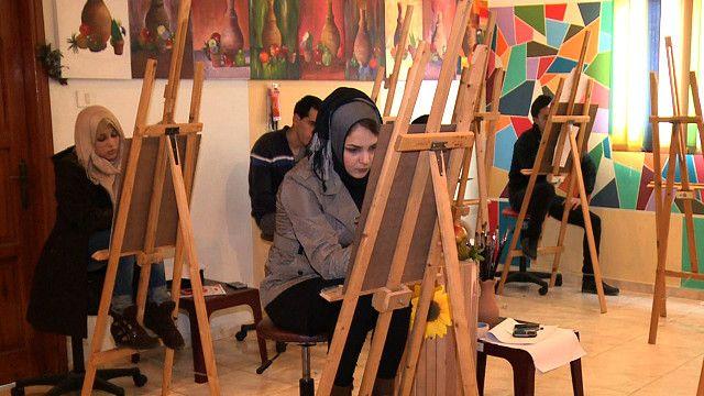 فنانو من غزة