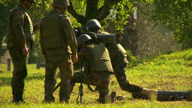 Курдские ополченцы в Германии