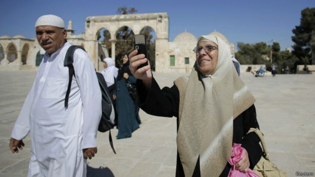 Israel permite visitas de palestinos a la mezquita de Al-Aqsa