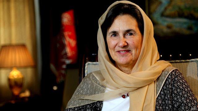 افغانستان کی خاتون اول رولا غنی