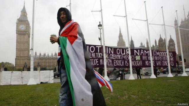 Israel critica al Parlamento británico por llamado a reconocer Estado palestino