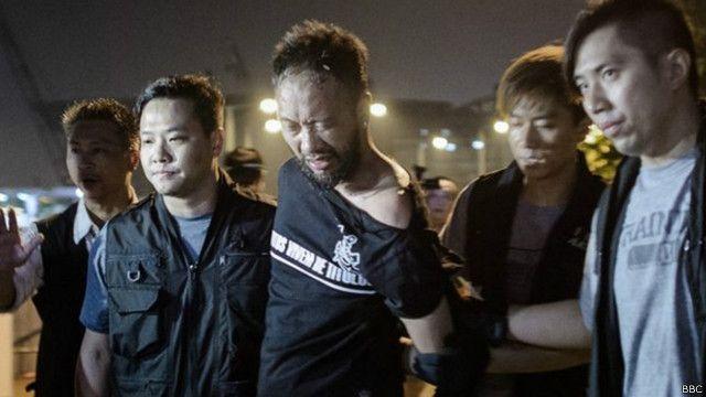 Policía Golpea  a manifestante