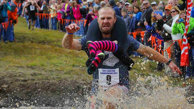 Vác vợ chạy thi tại Maine, Hoa Kỳ