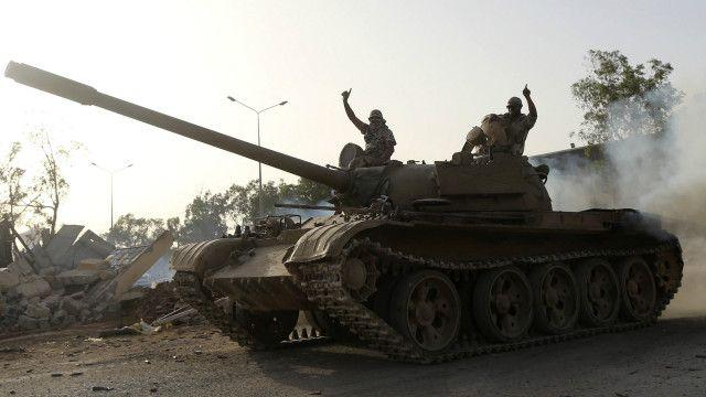 لیبیا میں فوج