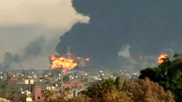 Правительству Ливии пришлось бежать из столицы