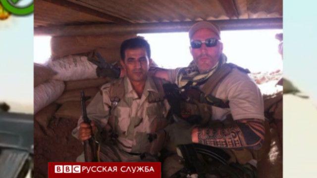 Фото голландского байкера в Ираке
