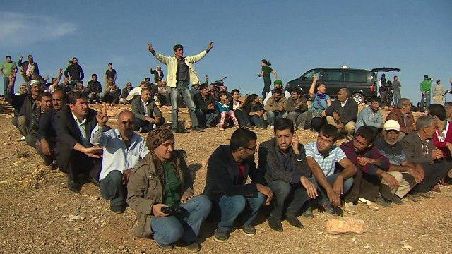 Курдские беженцы в Турции