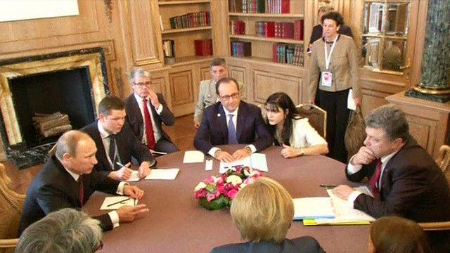 Встреча Путина и Порошенко в Милане