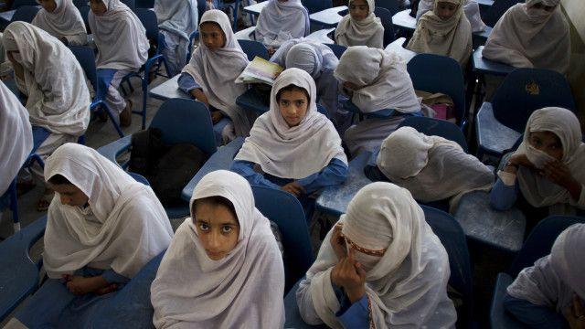 سکول کی طالبات