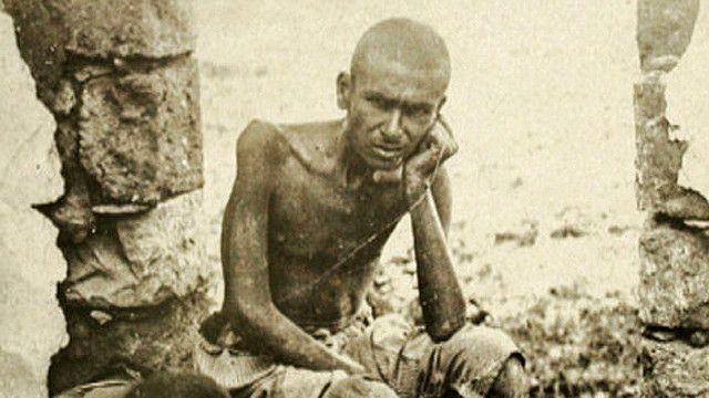 Foto de libanés durante la Primera Guerra Mundial