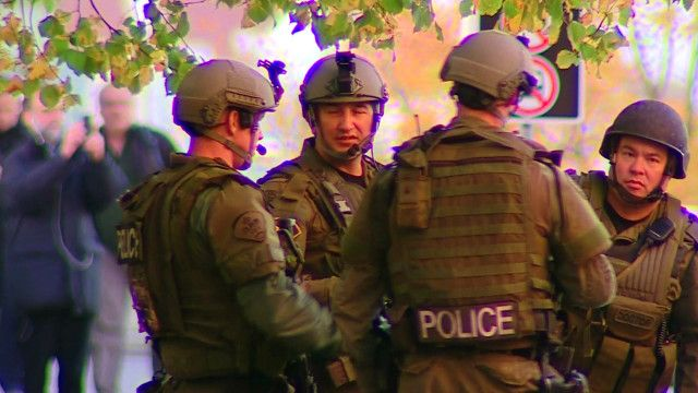 Вооруженный патруль полиции