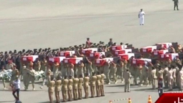 جنازة الجنود المصريين