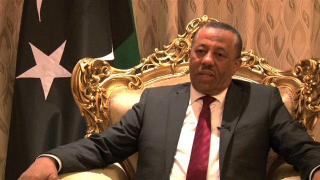 رئيس الوزراء الليبي عبد الله الثني