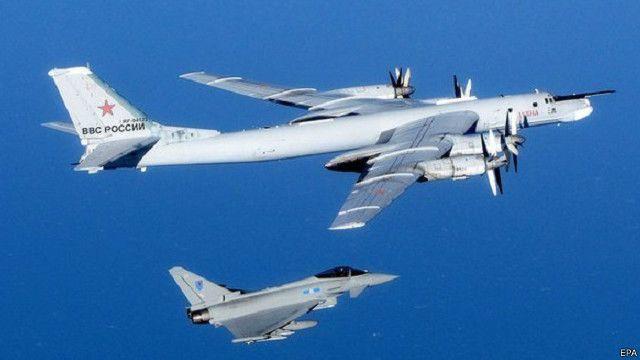 الطيران الروسي يختبر قدرات حلف شمال الأطلسي الدفاعية