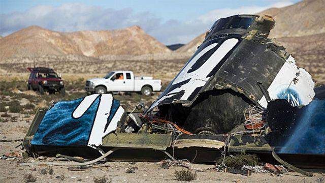 Uzay turizmi aracının düşüşüyle ilgili soruşturma 'bir yıl sürecek'