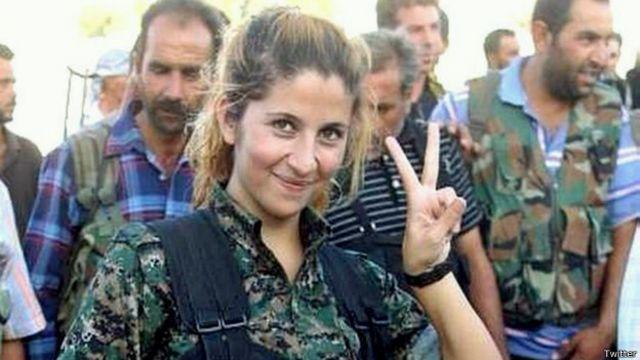 Bir internet efsanesi nasıl doğdu: Kobanili 'Rehana'