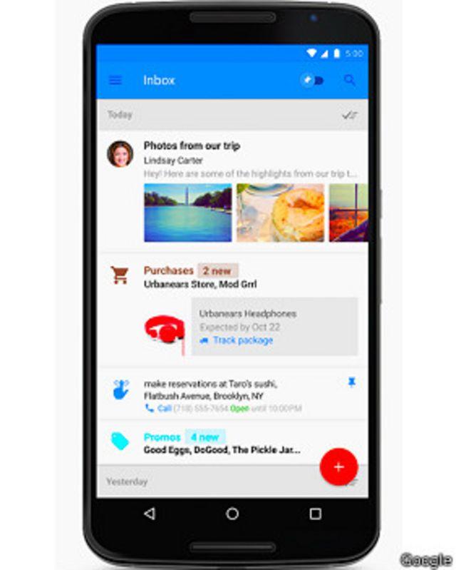 Cómo Google está reinventando el correo electrónico