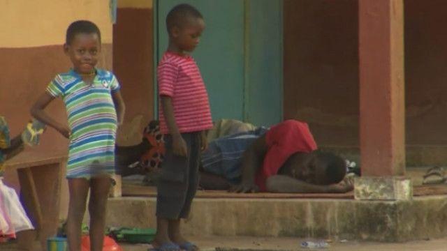 дети больные эболой
