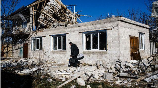 قلق أوروبي ازاء اندلاع القتال العنيف شرقي أوكرانيا