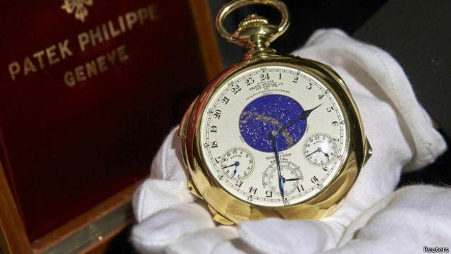 Subastan el reloj más caro del mundo avaluado en US$15 millones