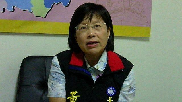 國民黨台南市長候選人黃秀霜(2014年)