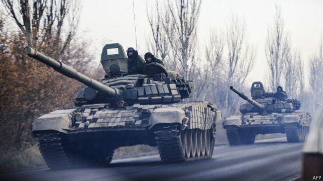 NATO: Rusya ordusu Ukrayna'ya girdi