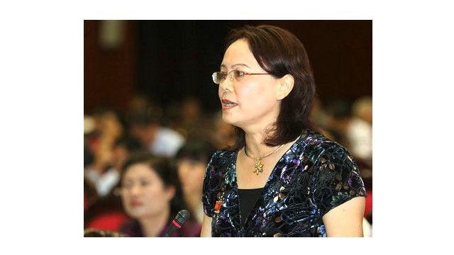 Cựu Đại biểu Quốc hội Phạm Thị Loan