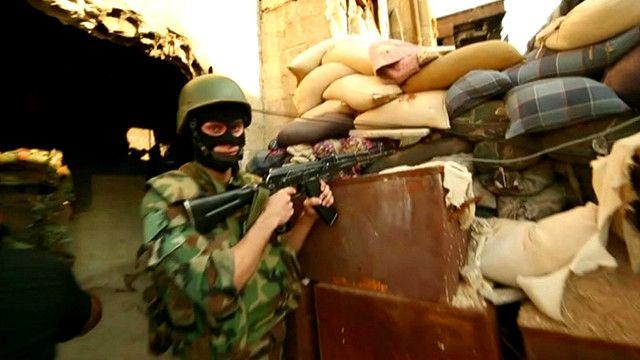 В Дамаске линия фронта проходит через город