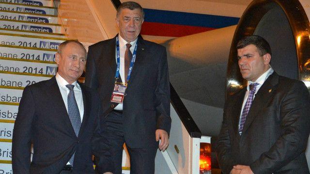 Putin arrives at G20