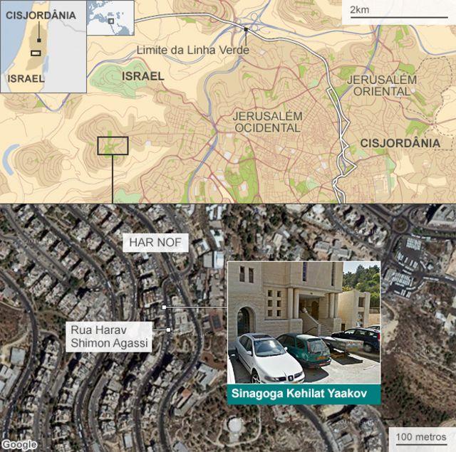 Ataque em Jerusalém eleva temor por possível conflito religioso